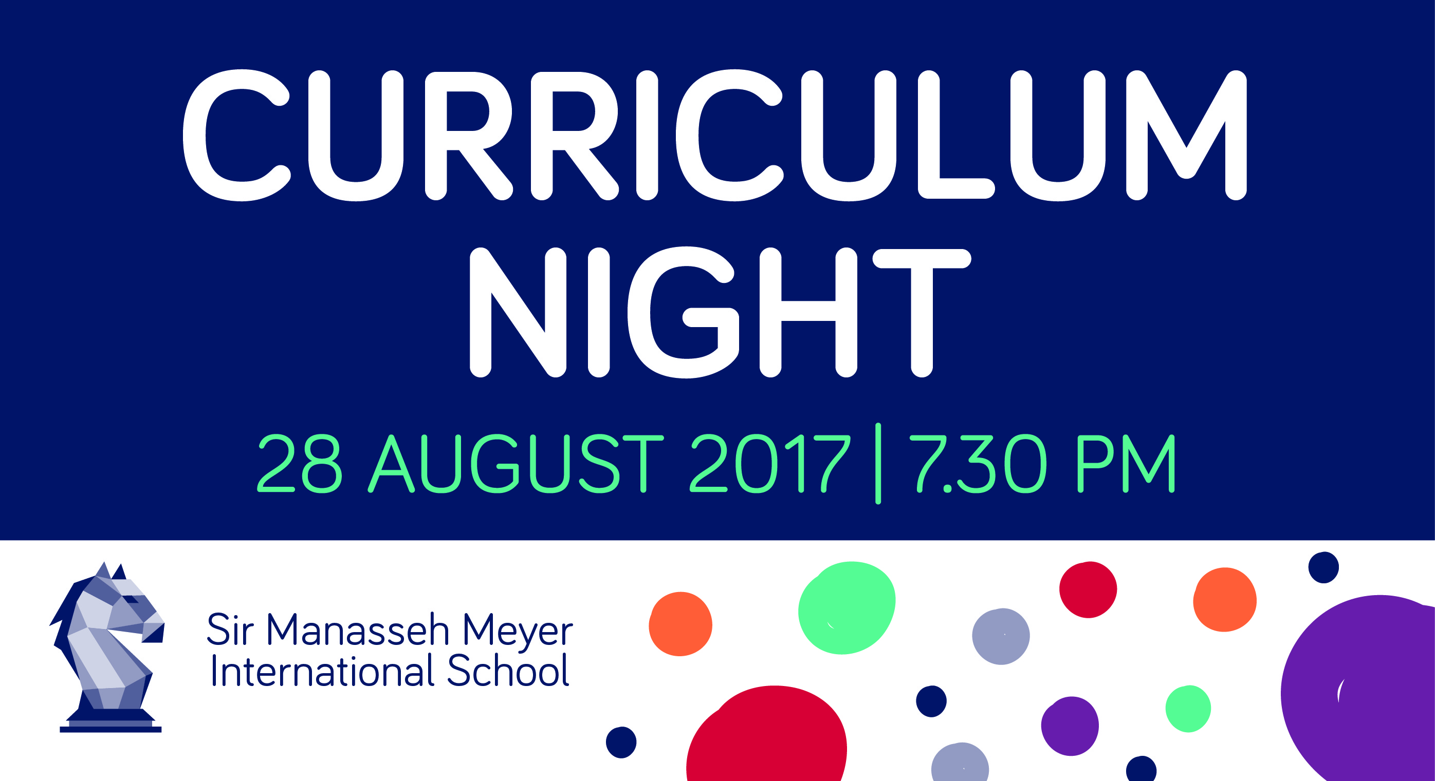 Curriculum Night — Sir Manasseh Meyer International School