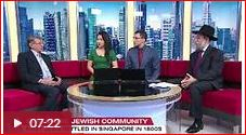 CNA feature on Singapore Jewish Community